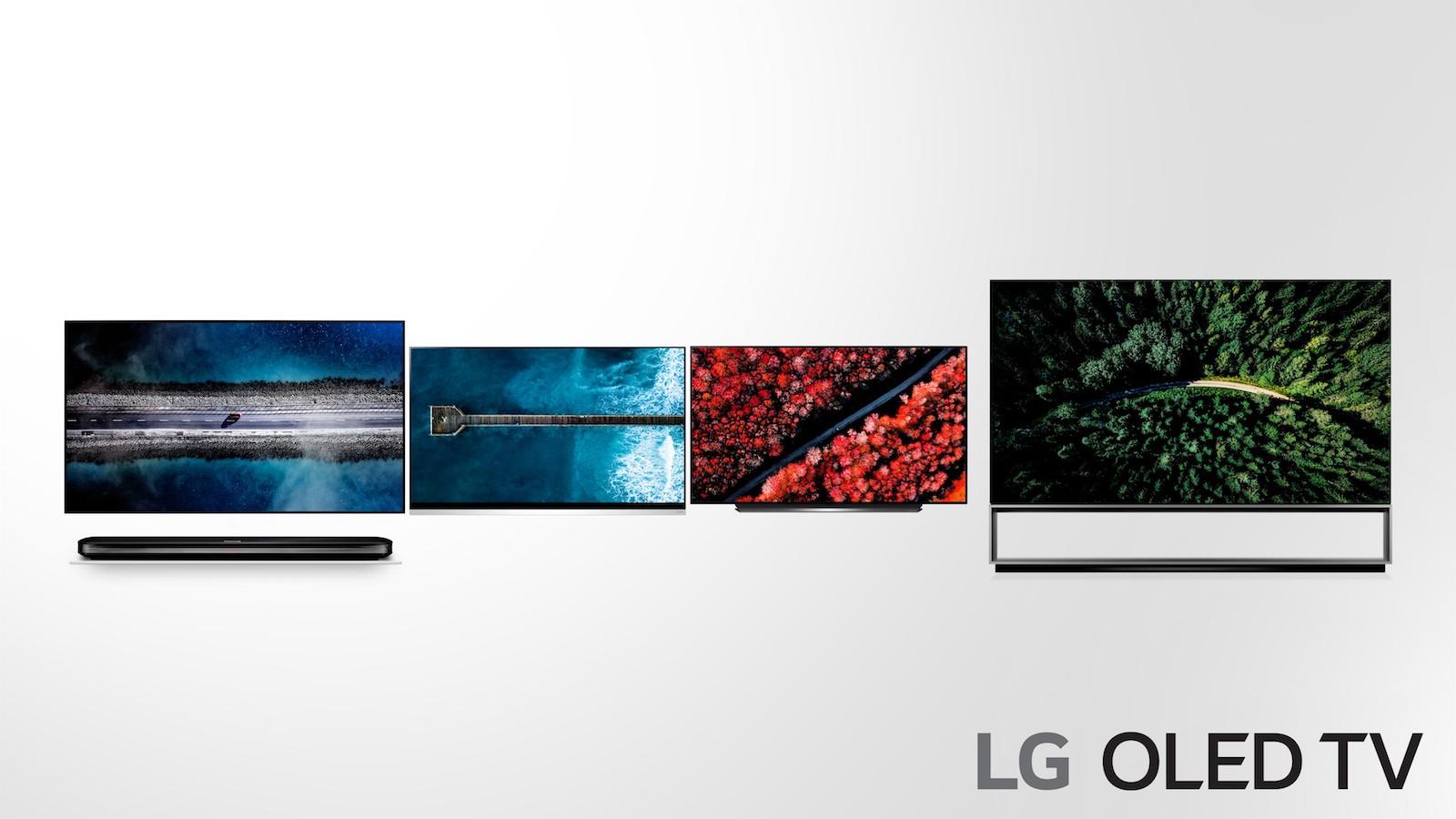 Téléviseurs OLED LG 2019