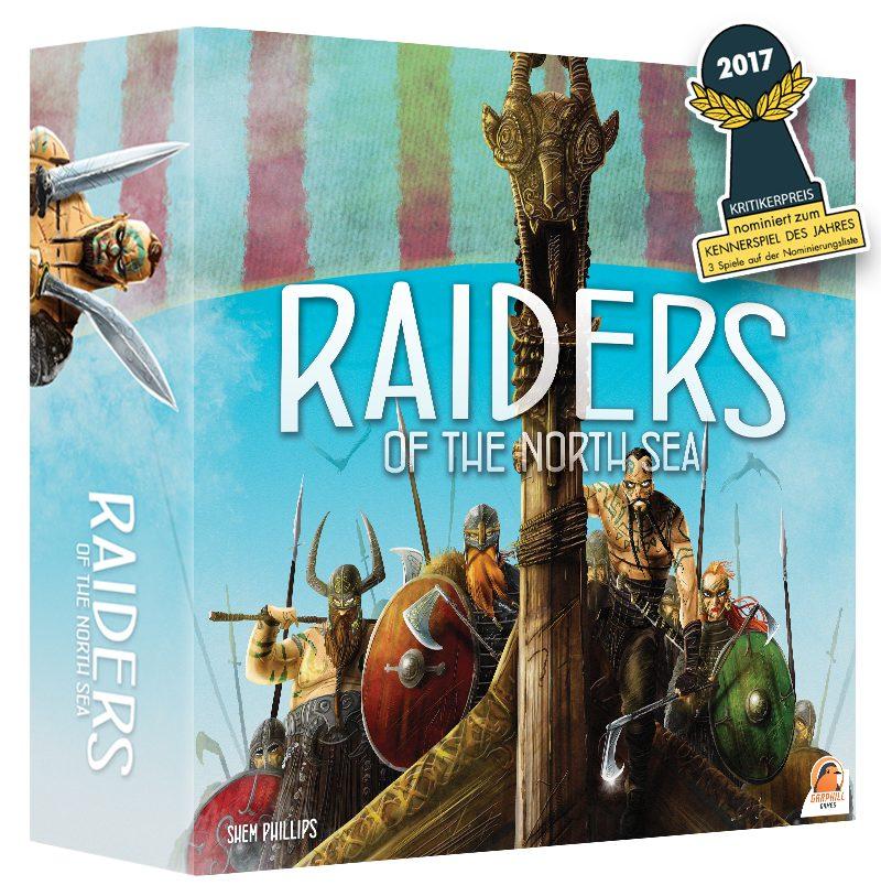 Jeu de société Raiders of the North Sea