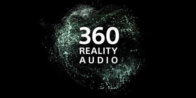 Format 360 Audio de Sony