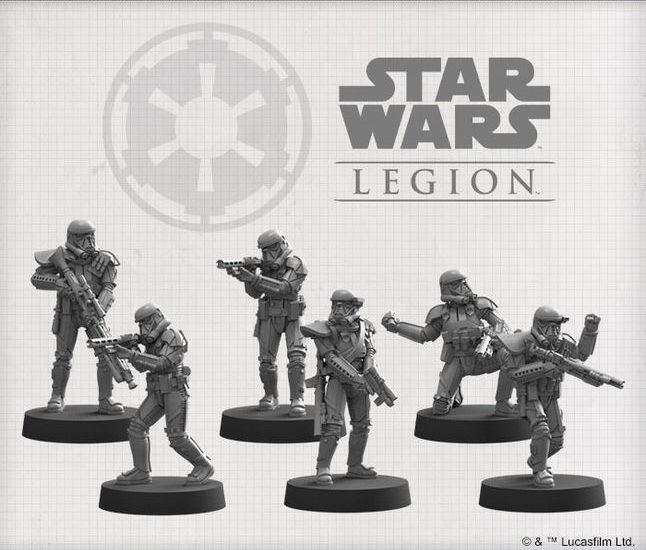 Figurines pour Star Wars Legion