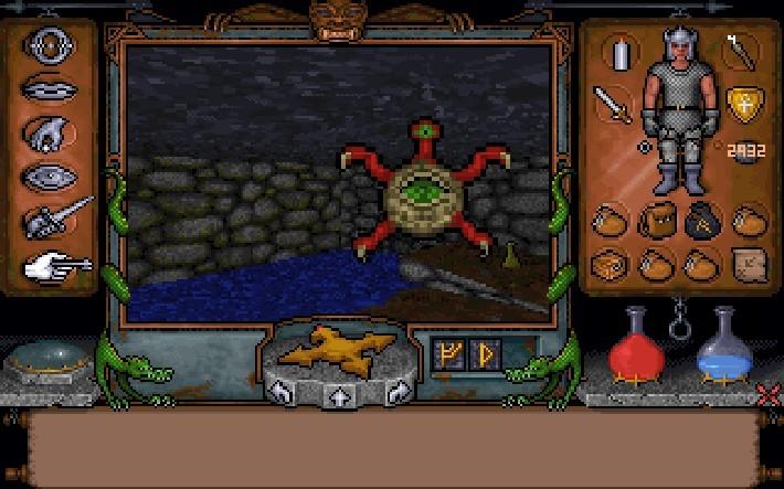 Le monde d'Ultima Underworld est oppressant et inflige un profond sentiment d'isolement au joueur