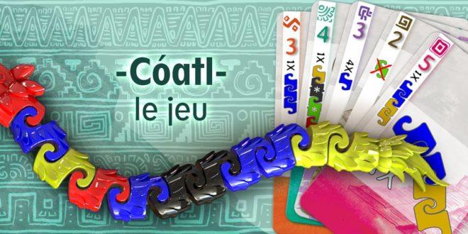 Cóatl, un prototype de jeu de société à surveiller