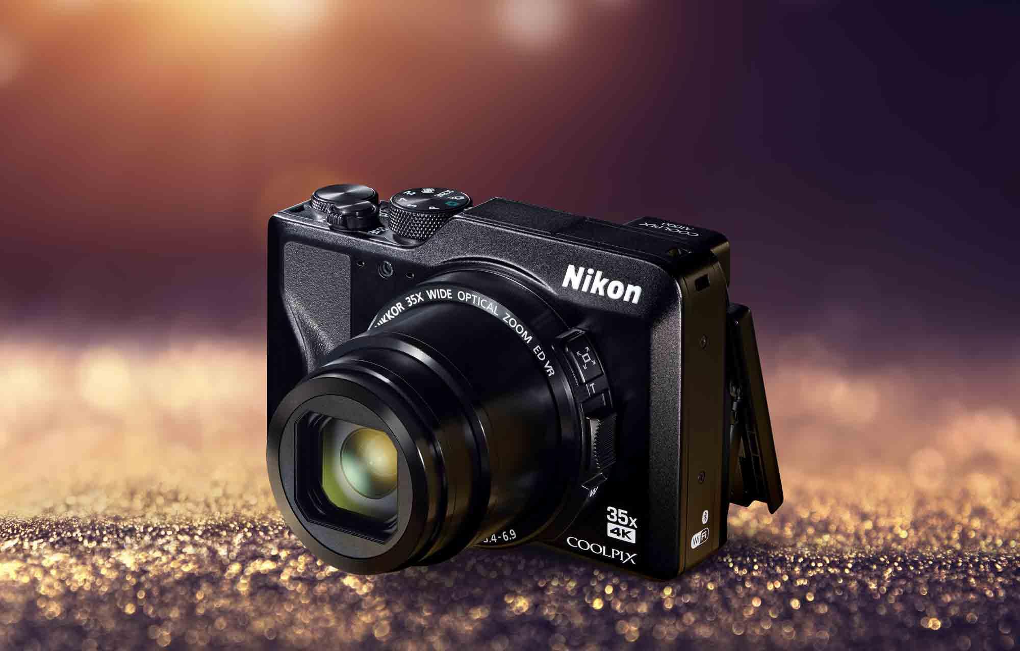 Le Coolpix A1000 conserve la simplicité d'utilisation du B600, mais y ajoute la prise de vidéo en résolution 4K
