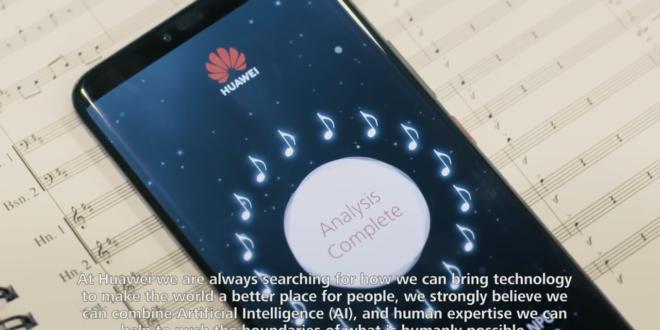 L'intelligence artificielle de Huawei pour achever l'inachevé