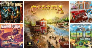 Jeux de société sur Kickstarter février 2019