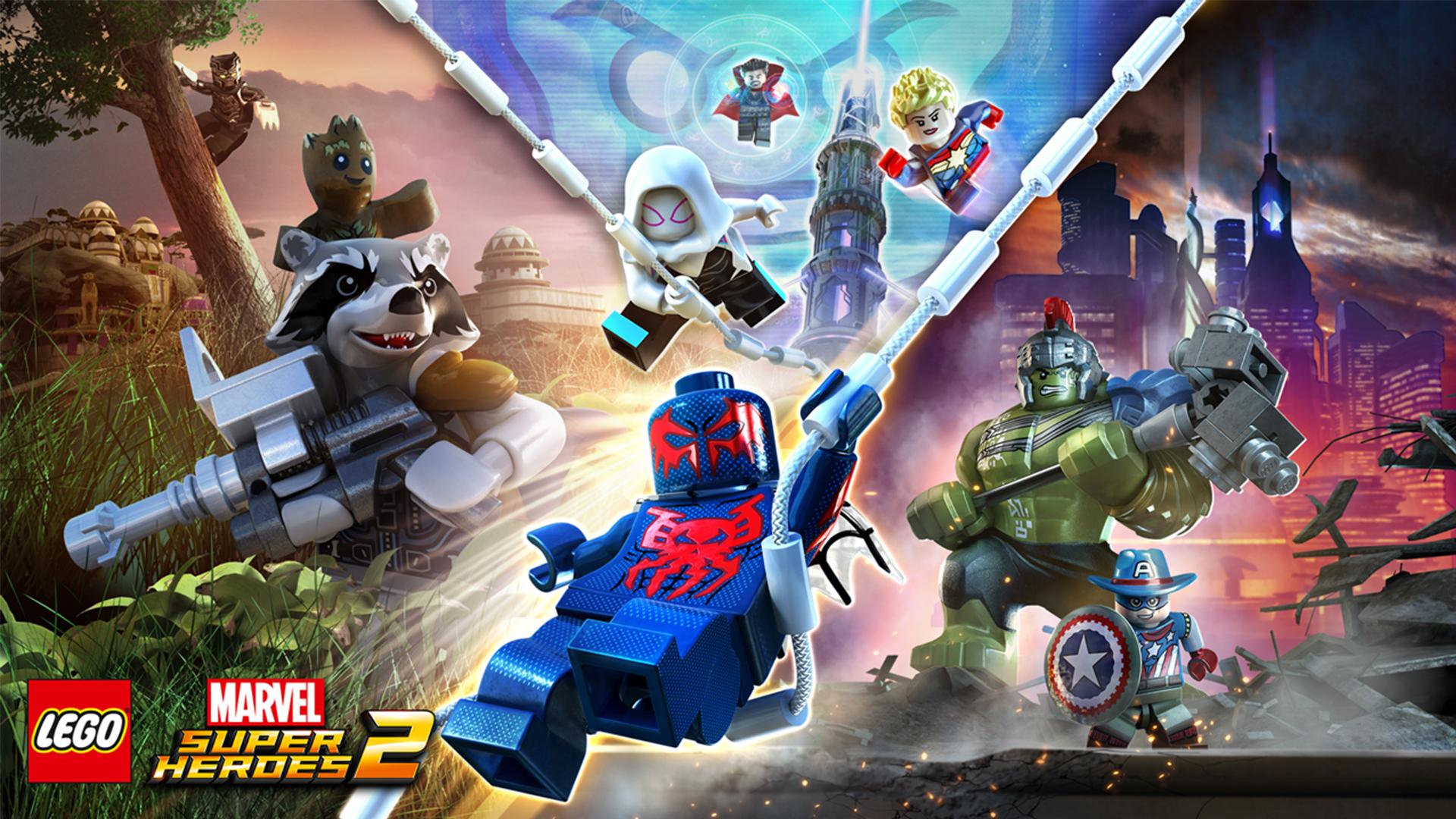 LEGO Marvel Super Heroes 2 représente la compilation la plus massive de la collection