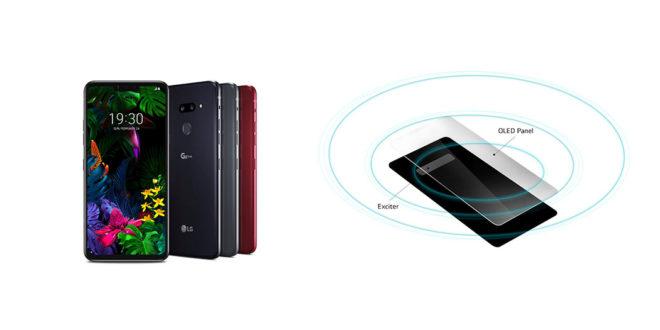Entête LG Crystal Sound OLED