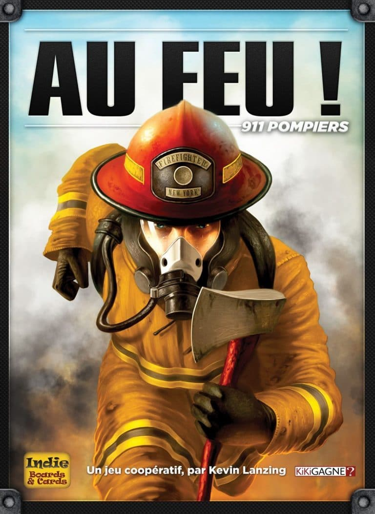Jeu de société Au Feu! 911 pompiers
