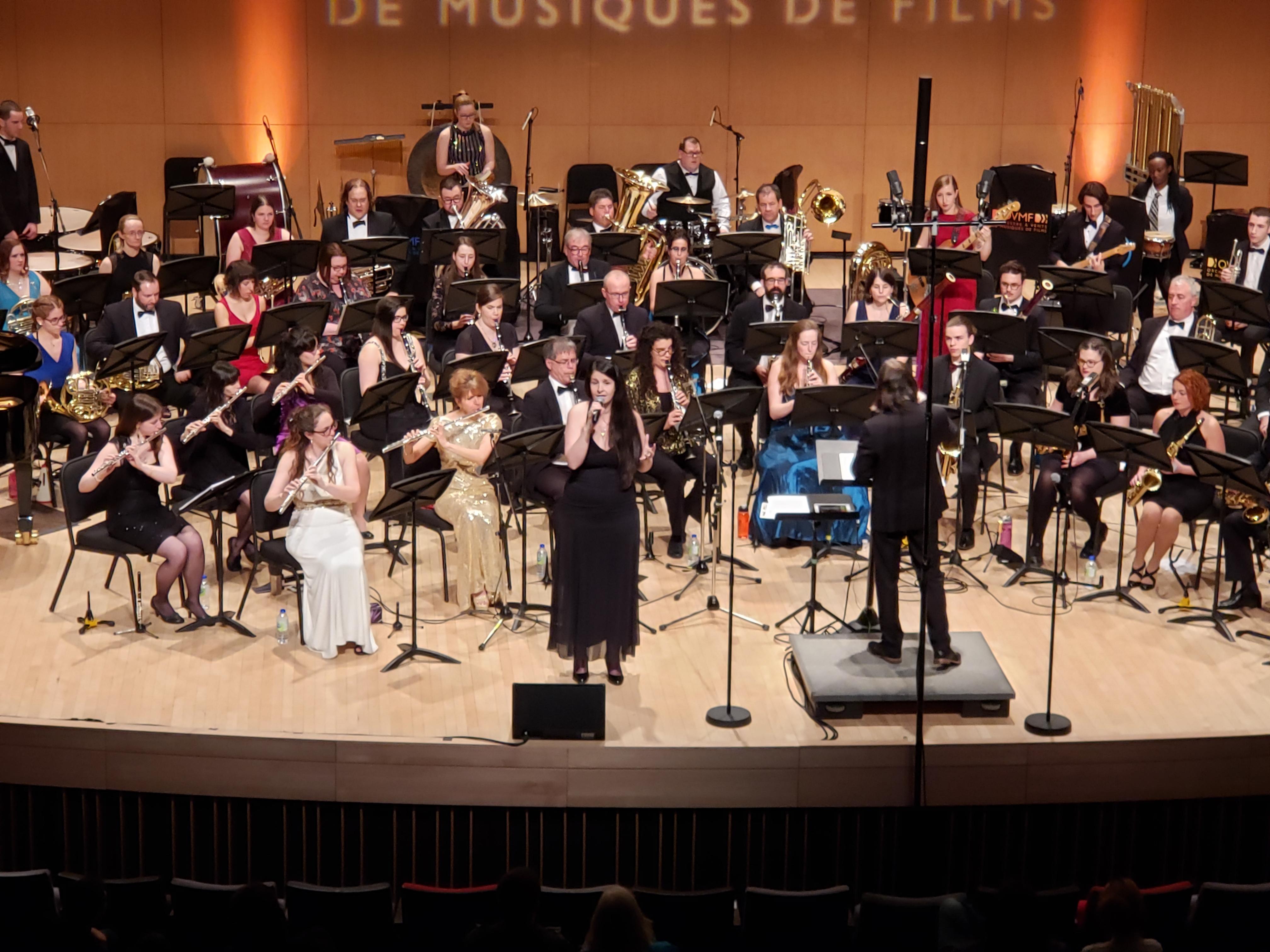 Les solistes ont brillé tout autant que l'orchestre lors du concert James Bond.