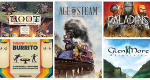 Jeux de société sur Kickstarter mars 2019