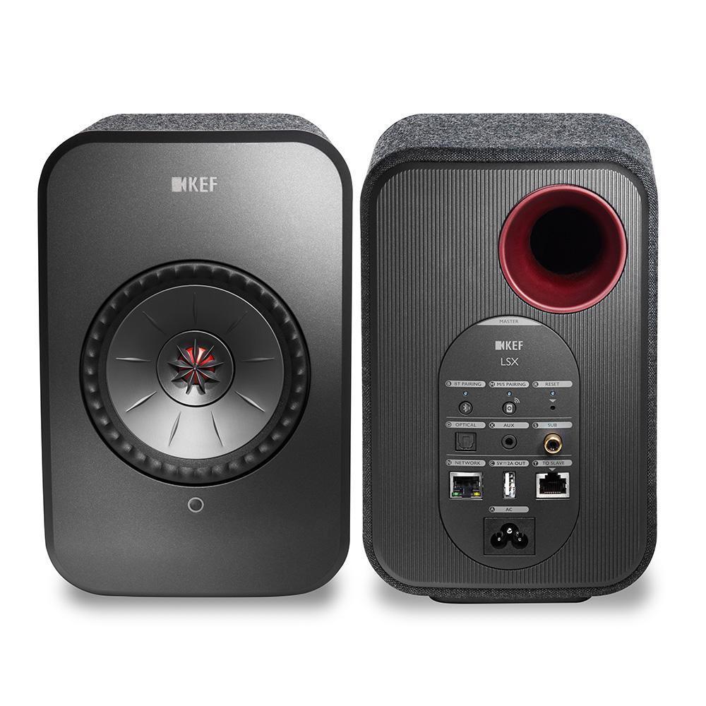 Haut-parleurs connectés KEF LSX