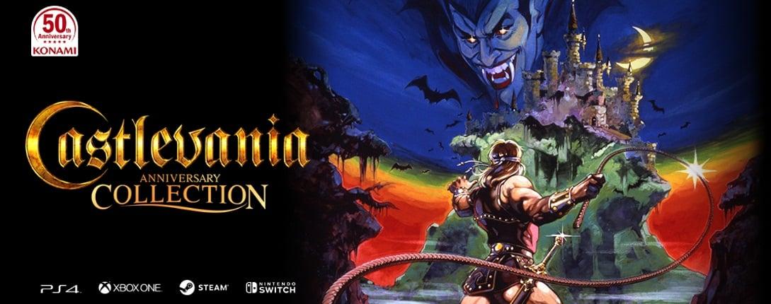 La collection Castlevania inclura huit titres classiques de la célèbre franchise