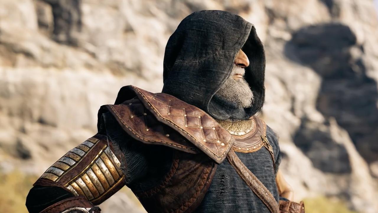 L'accoutrement de Darius rappelle celui des Assassins du reste de la franchise
