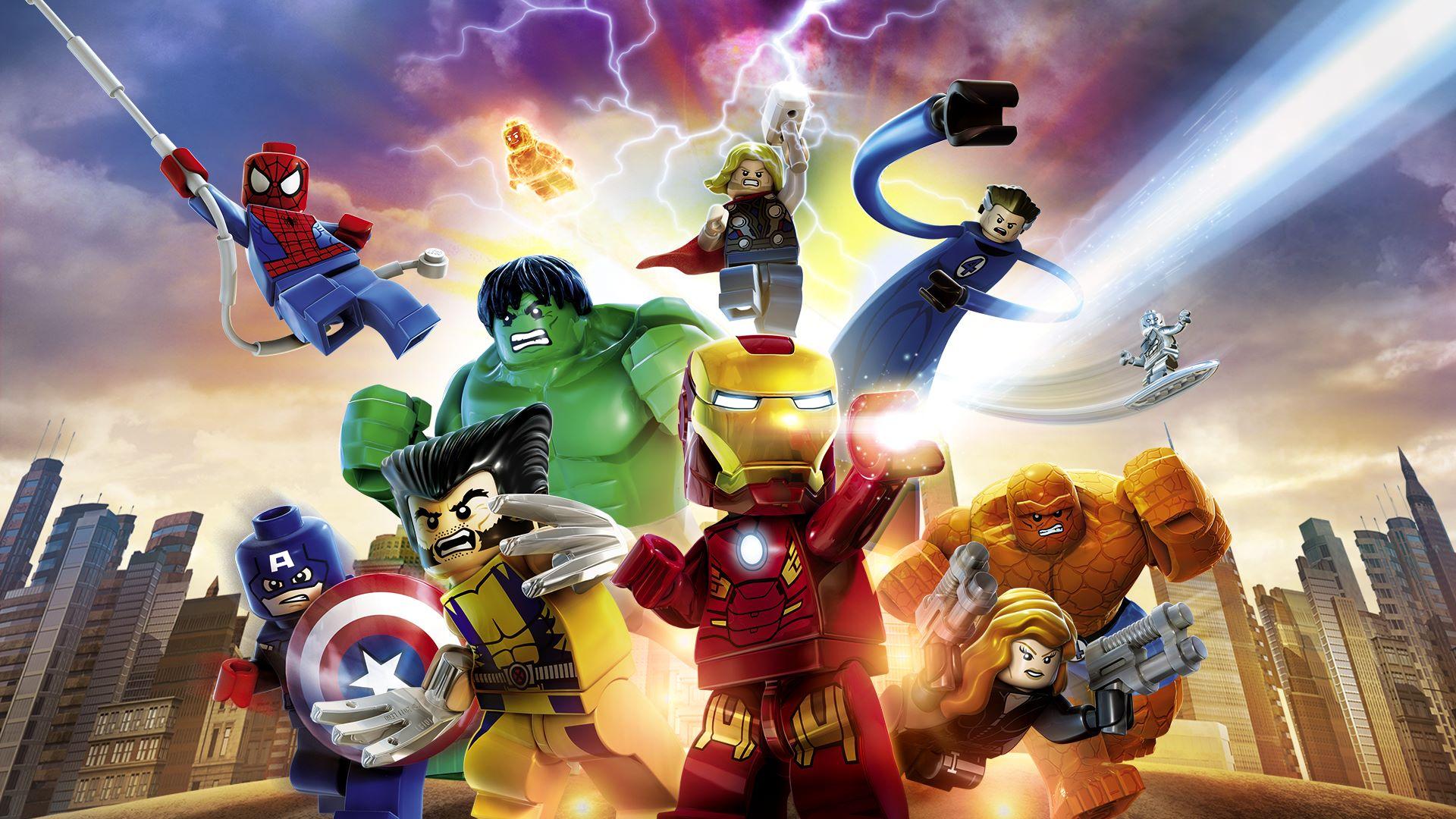 Le premier jeu de la collection contient une histoire non inspirée des films de Marvel