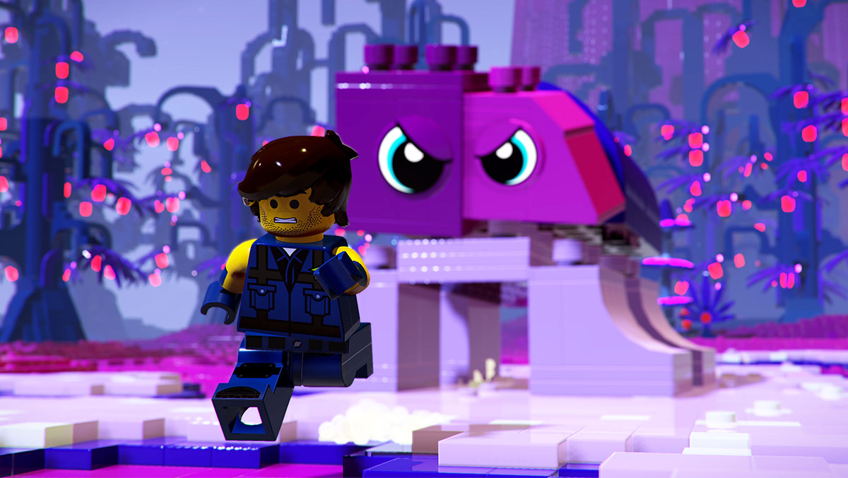 Les extra-terrestres sont une menace constante dans The Lego Movie 2