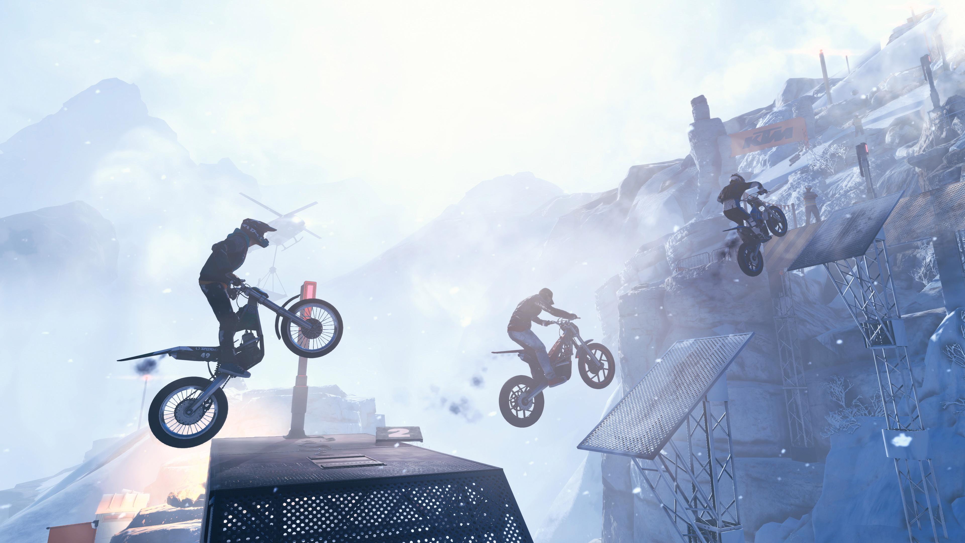 Escalader l'Everest juché sur une moto est maintenant chose possible dans Trials Rising