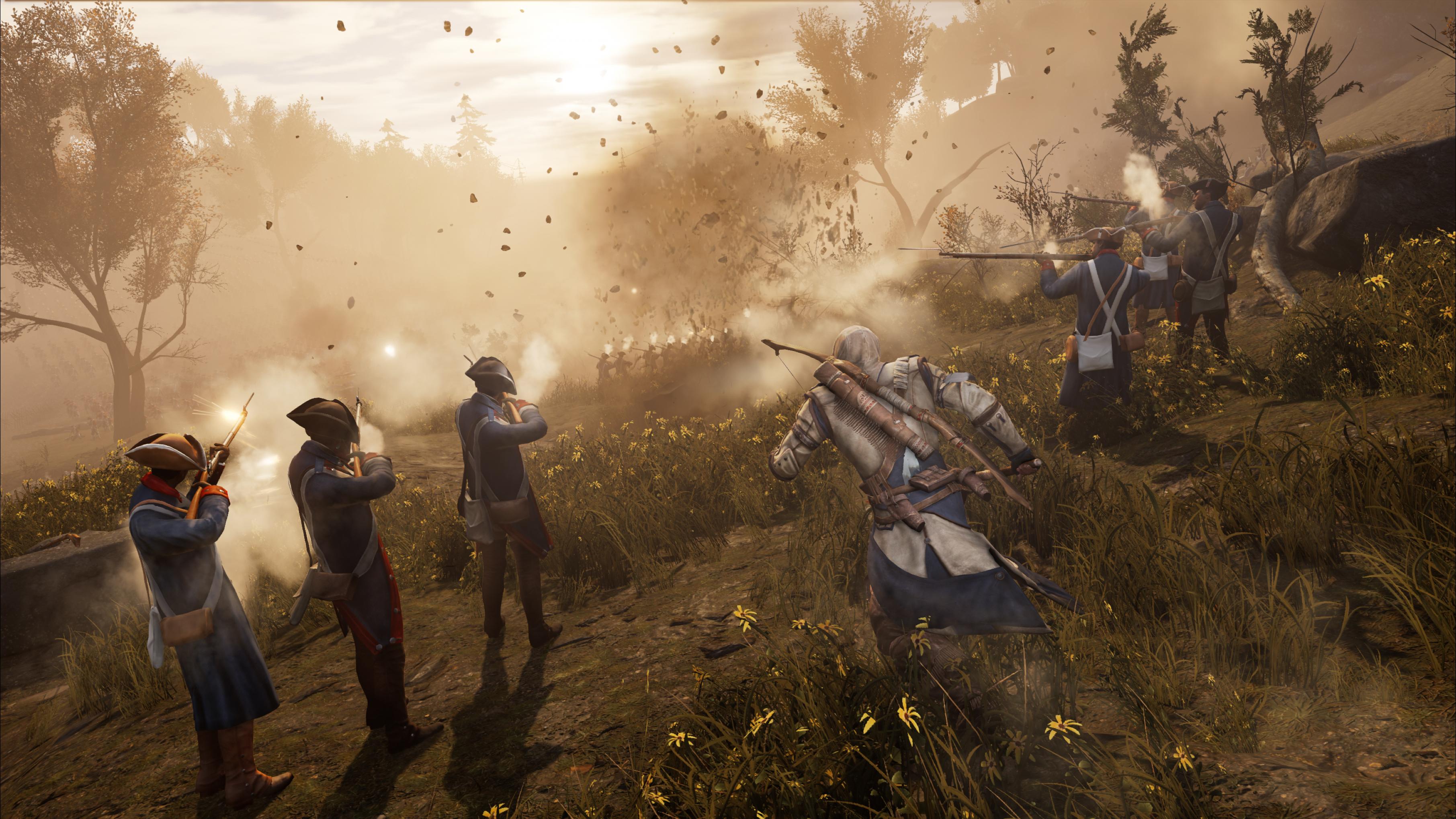 Le héros sera rejoint par des membres des forces coloniales lors de certaines séquences du jeu