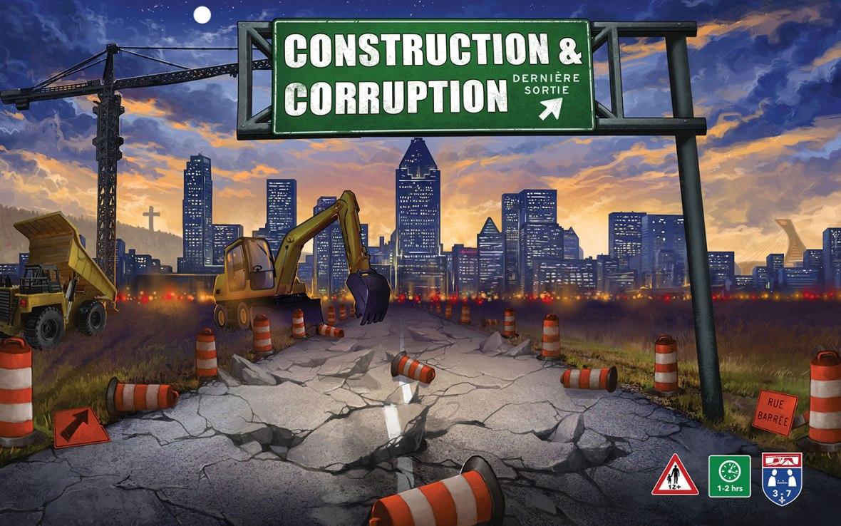 Jeu de société Construction & Corruption