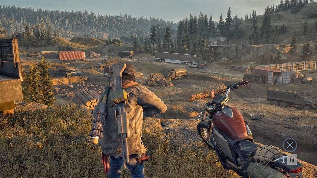 La motocyclette est l'outil le plus précieux du joueur dans Days Gone.