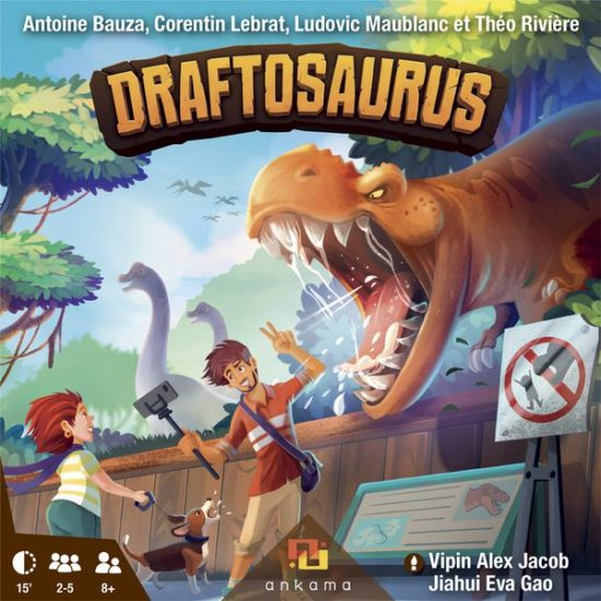 Jeu de société Draftosaurus