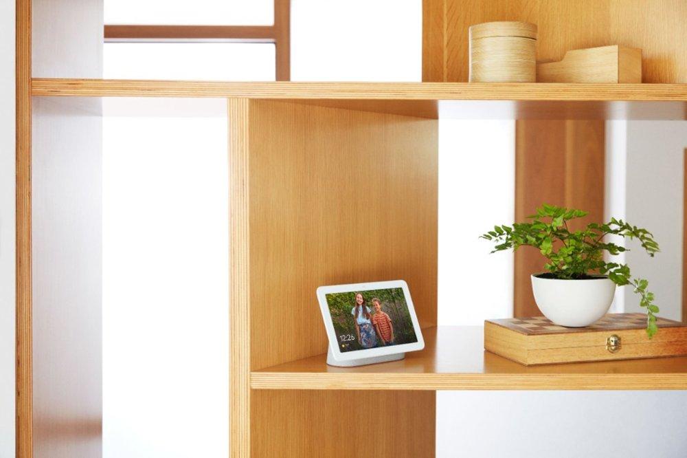Google Nest Hub comme cadre numérique