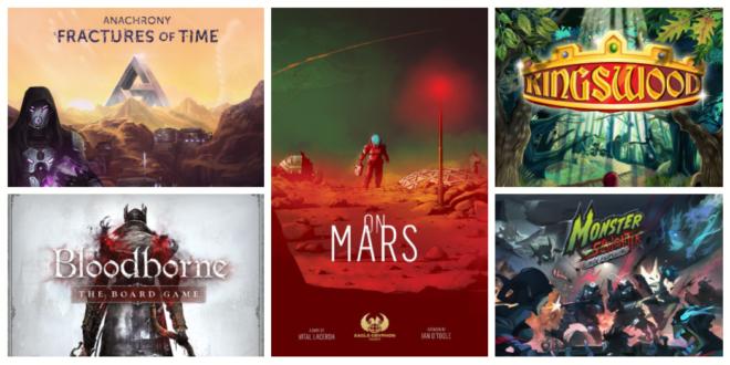 Campagnes Jeux de société sur Kickstarter fin avril 2019