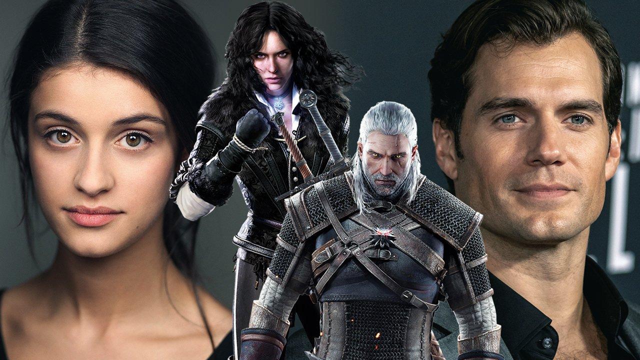 Henry Cavill et Anya Charlotra incarneront le couple sulfureux de Geralt et Yennifer