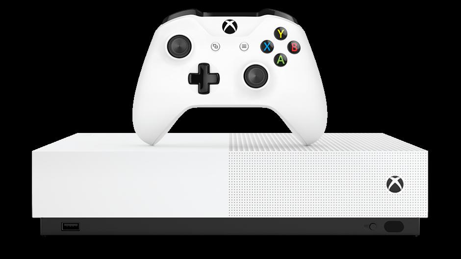 Microsoft opte pour la voie 100% numérique avec la Xbox One S All-Digital Edition