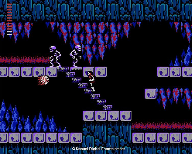 Casltevania 2 Simon's Quest utilise une structure non-linéaire dans une aventure plus complexe que le titre précédent