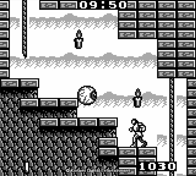 Redécouvrez deux titres sortis sur la console Gameboy avec The Adventure et Belmont's Revenge