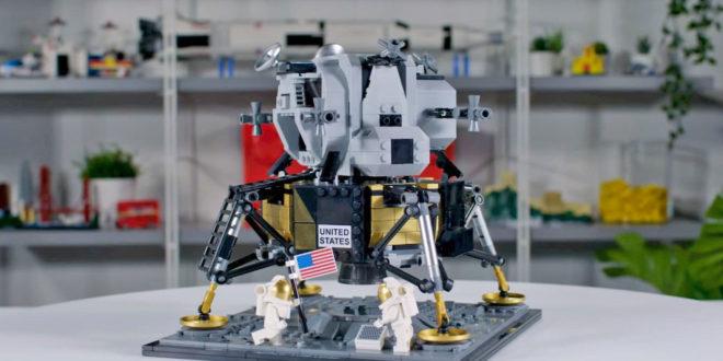 LEGO lunaire