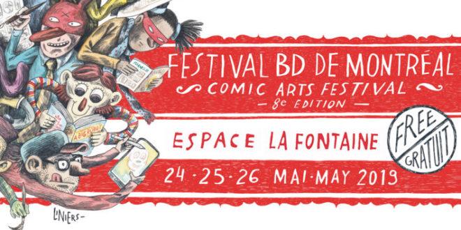 Festival BD de Montréal – 8e édition: une idée d'activité familiale!