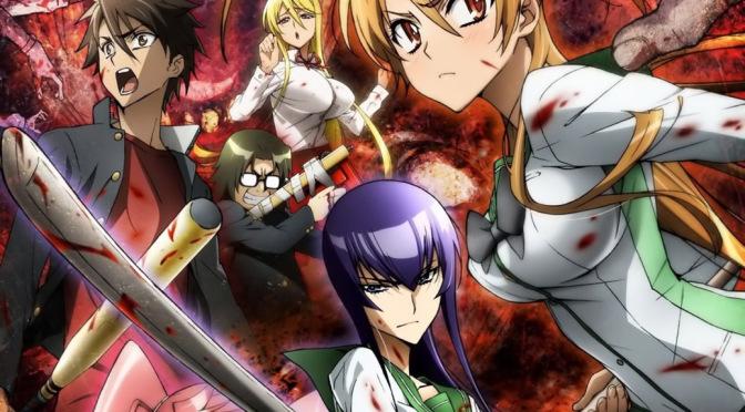 High School of the Dead - Top 5 des animes où la fin du monde est au rendez-vous