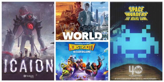Jeux de société Kickstarter fin mai 2019