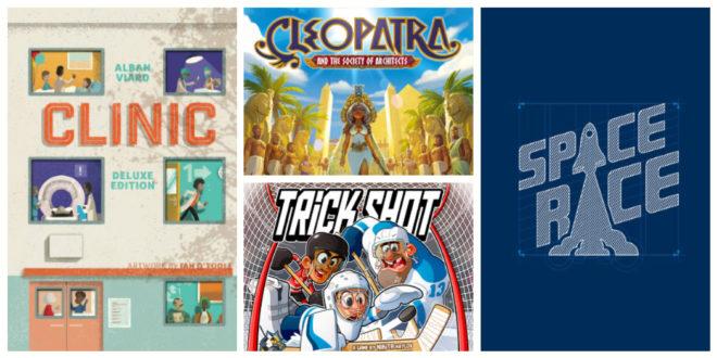 Podcast Kickstarter Épisode 1 – Cleopatra et d'autres jeux de société