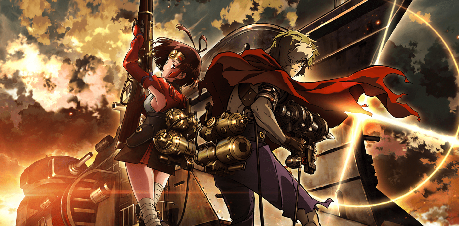Kabaneri of the Iron Fortress - Top 5 des animes où la fin du monde est au rendez-vous