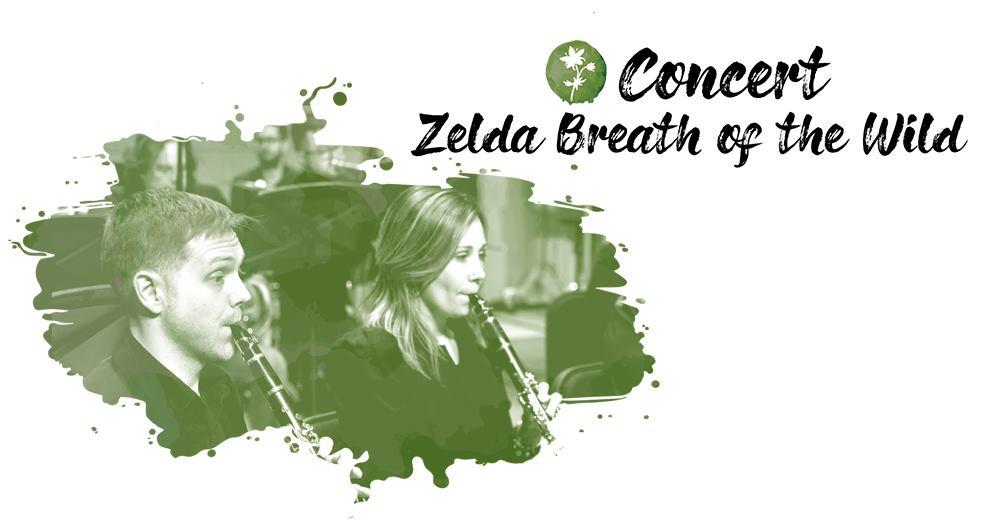 Retrouvez les vastes étendues du royaume d'Hyrule dans le concert Zelda Breath of the Wild