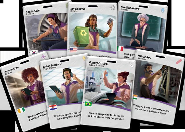 Cartes du jeu de société Pandemic: Rapid Response