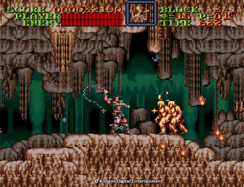 Sorti à l'époque sur la console SNES, Super Castlevania IV est encore considéré comme l'un des meilleurs titres de la franchise