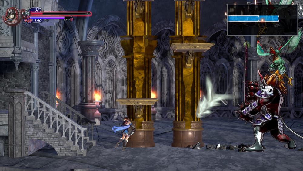 Le jeu se joue en 2D, mais avec des décors et des environnements en 3D