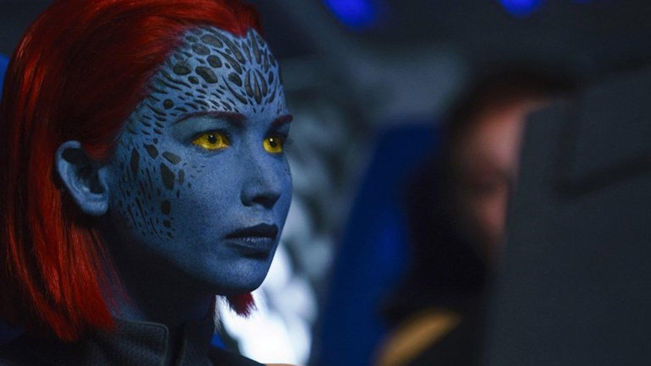Jennifer Lawrence incarne à nouveau Mystique, la mutante qui peut prendre l'apparence de n'importe qui