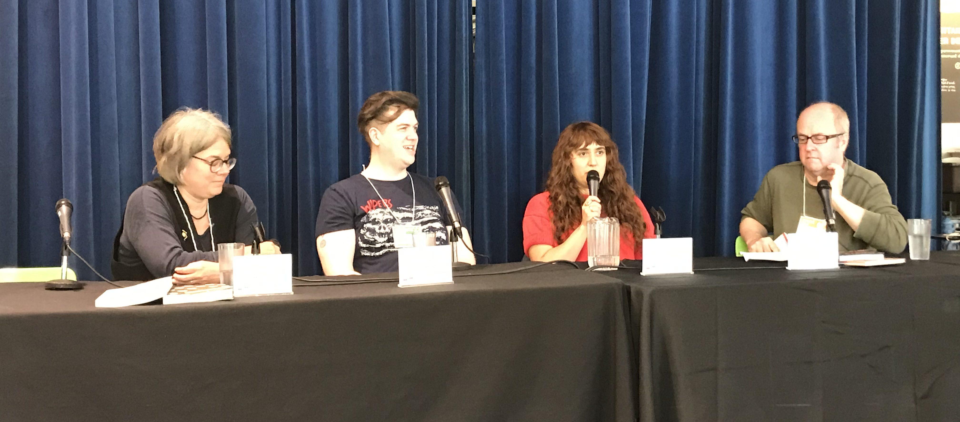 Conférence sur la censure du Festival de BD de Montréal (FBDM)