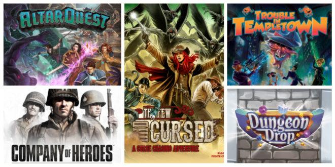 Altar Quest et 4 autres nouvelles campagnes jeux de société