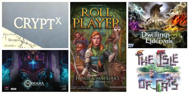 Jeux de société Kickstarter Juin 2019