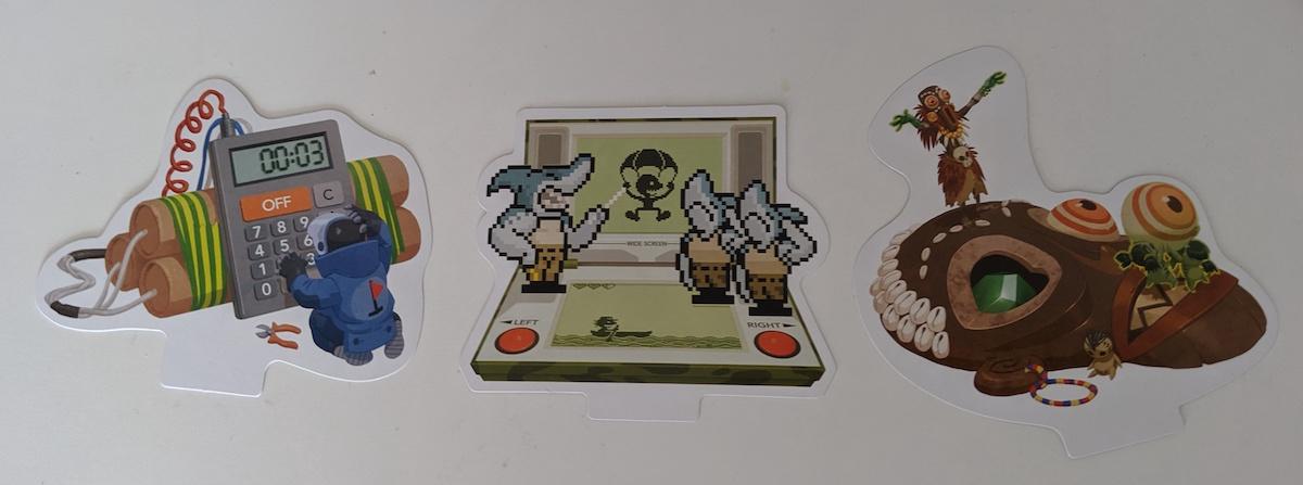 Illustrations du jeu de société One Key