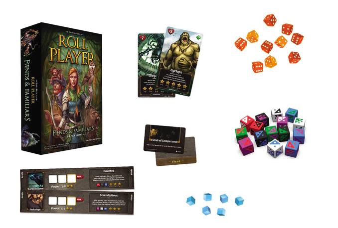 Jeu de société Roll Player: Friends & Familiar