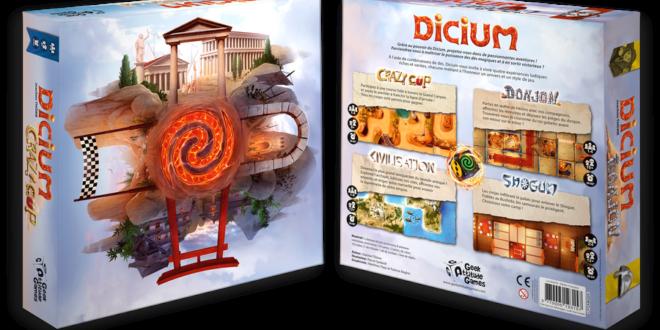 Dicium: le jeu de dés aux quatre personnalités