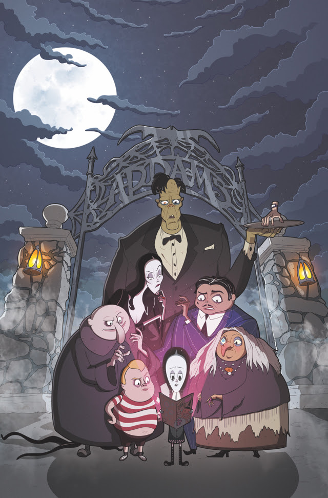 Couverture famille Addams