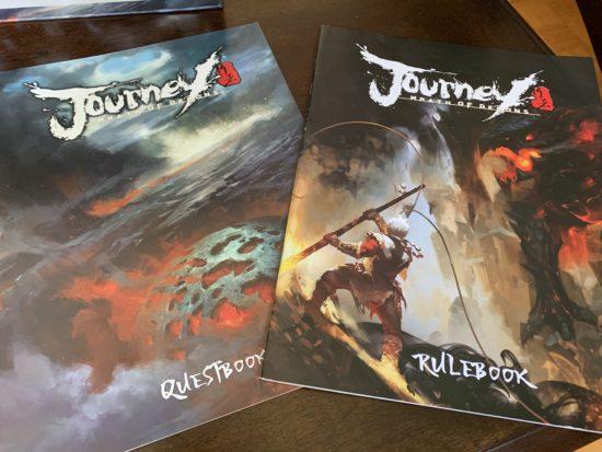 Les livrets de Journey : Wrath of Demons