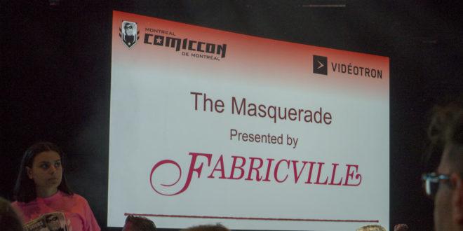 Mascarade Comiccon de Montréal 2019